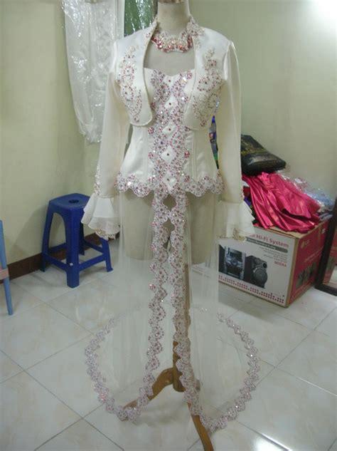 desainer kebaya pengantin muslim  mini blazer