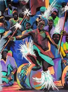 African Tribal Dance Paintings
