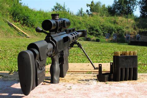 50 Bmg Range by Sniper Rifle Caliber 50 Bmg Stock Photo Image 42718776