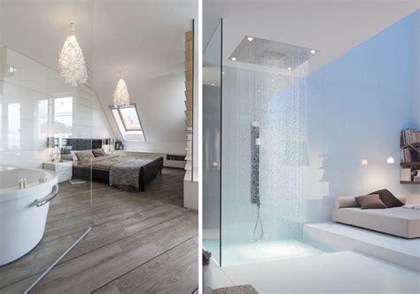 salle de dans chambre une salle de bains dans la chambre joli place