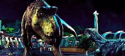 Jurassic Rex Rexy Park Tyrannosaurus Velociraptor Omega