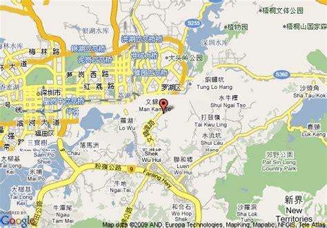 Map Of Shenda Telephone Resort, Shenzhen