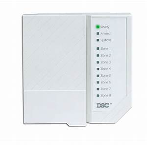 Security System Zone Control Panel