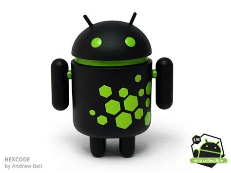 google android collectible mini figures series  unveiled gadgetsin