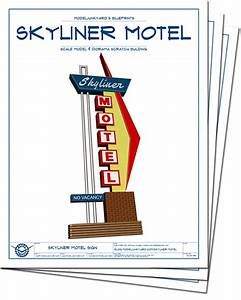 Skyliner Motel Sign – Route 66 – Vintage neon sign ...
