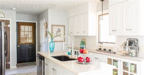 diy cheap kitchen cabinets cheap diy kitchen makeover hometalk 6805