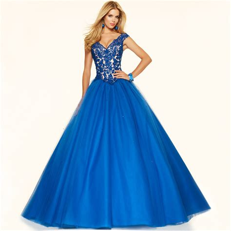 wear now the classic beautiful prom dresses v neck cap sleeve princess