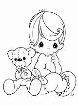 Coloring Baby Pages Printable sketch template