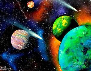 Planets Spray Paint (page 4) - Pics about space