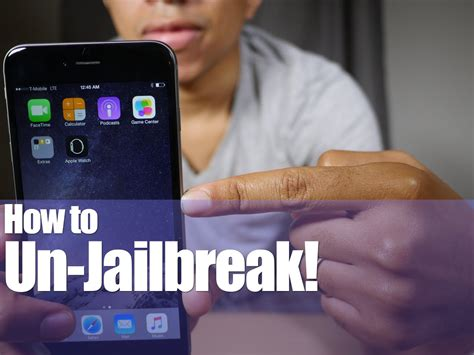 how to unjailbreak iphone without computer how to unjailbreak an iphone or ipod touch ios 8 3