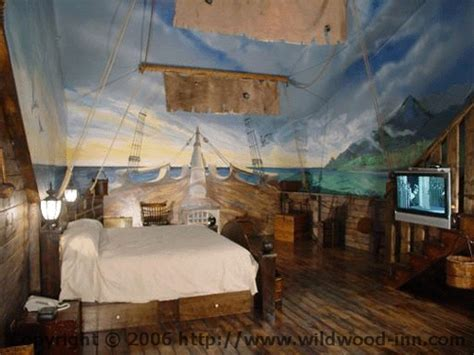 Ship Bedroom by A Pirate Ship Themed Hotel Room Max S Room Pinterest