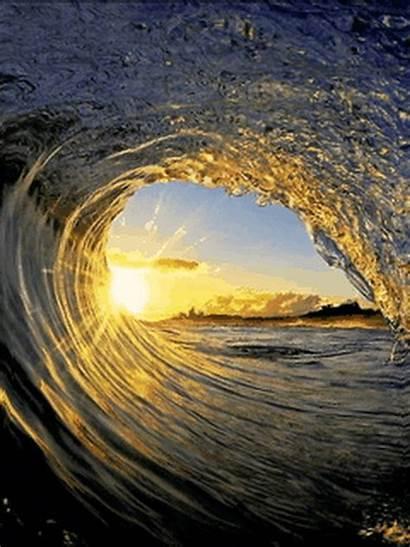Waves Amazing Iphone Wave Nature Sunrise Pretty