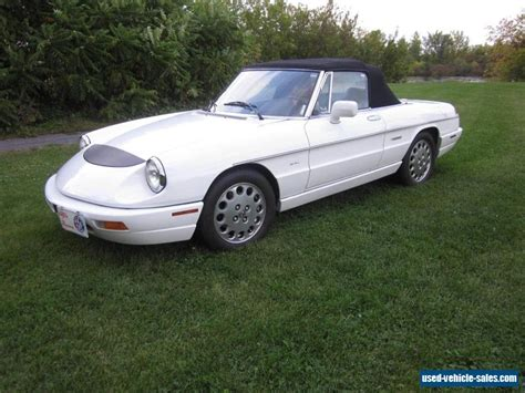 1991 Alfa Romeo Spider For Sale In Canada