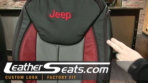 jeep wrangler custom leather interior conversion package