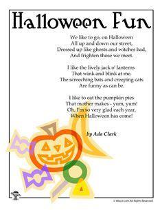 halloween poems  kids halloween poem halloween
