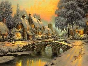 Best Christmas painting Wallpapers – Christmas Wishes