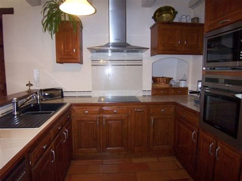 cuisine renovee vos photos de cuisines cuisine renovee merisier et inox