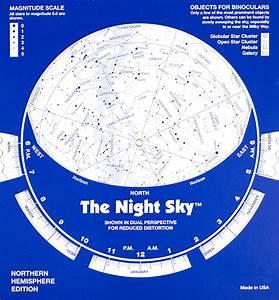 Cardboard Night Sky Northern Hemisphere David Chandler