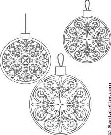 ornaments coloring pages designs coloring pages