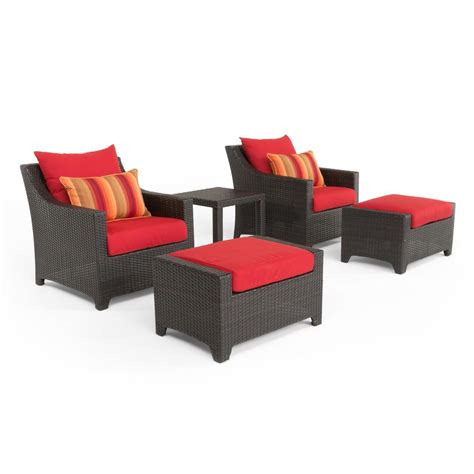 ae outdoor corona 3 all weather wicker patio