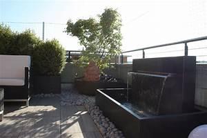 wasserspiel terrasse my blog With französischer balkon mit garten wasserspiel solar