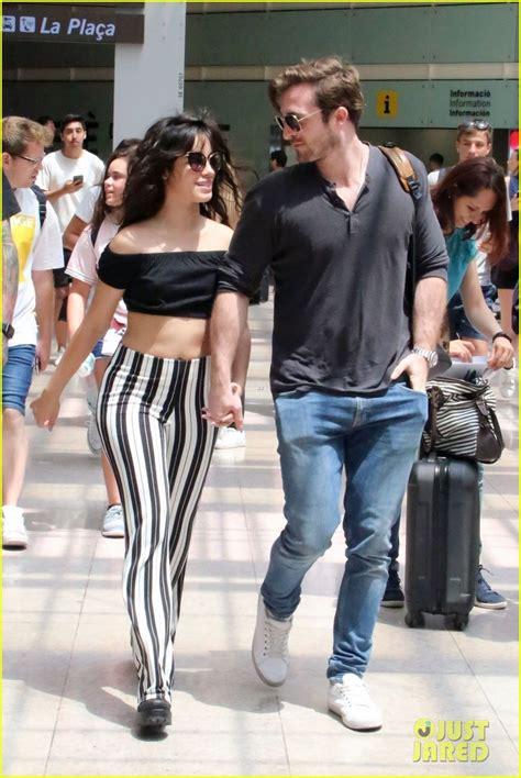 Camila Cabello Kisses Boyfriend Matthew Hussey Spain
