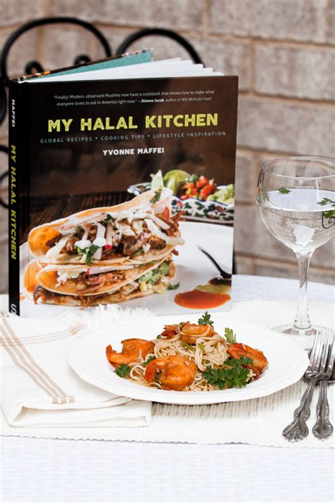 my kitchen book my halal kitchen book review halal shrimp sci