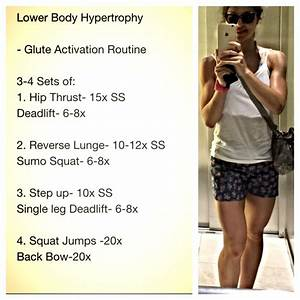Lower Body Hypertrophy  With Images