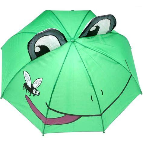 jiglz childrens folding frog umbrella rainproof