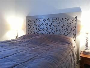 Tete De Lit En Bois : une chambre revisit e avec le moucharabieh t te de lit ~ Teatrodelosmanantiales.com Idées de Décoration