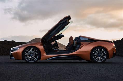 car bmw 2018 soft top super hybrid 2018 bmw i8 roadster revealed car