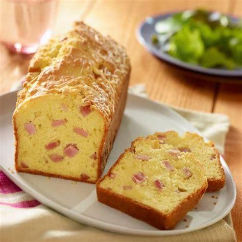 recette cake au jambon  au gruyere rape facile  rapide