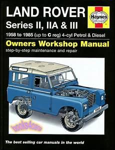 Land Rover Shop Manual Service Repair Book Haynes Gas