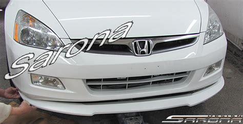custom honda accord front bumper add  sedan front add  lip