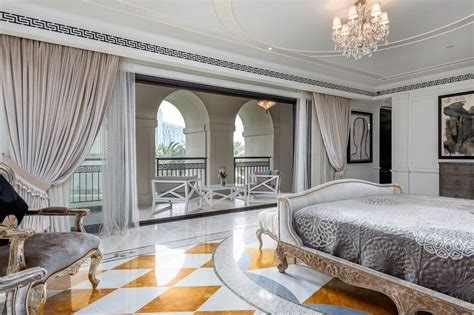 palazzo versace opulent waterfront penthouse  dubai idesignarch interior design