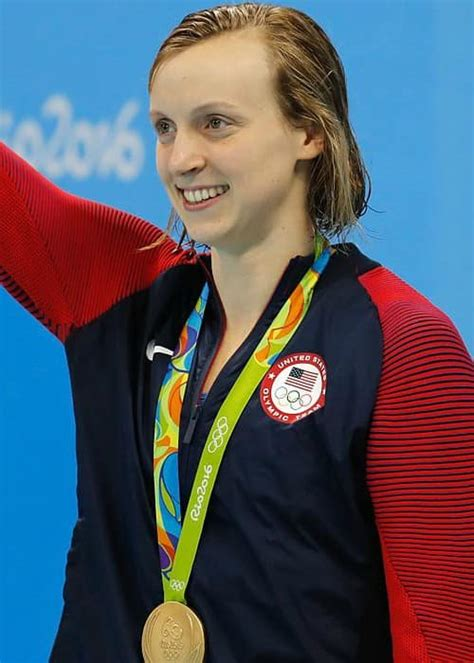 Katie ledecky (pictured right) will be the swimmer everyone is chasing in the pool at tokyo in three freestyle swimming events at the olympics. Katie Ledecky Height, Weight, Age, Body Statistics ...