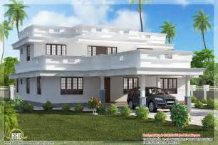 simple houseplans flat roof home design with 4 bedroom home appliance