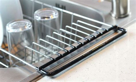 kitchen sink with drying rack dish drainer rack sink holder drying kitchen 8573
