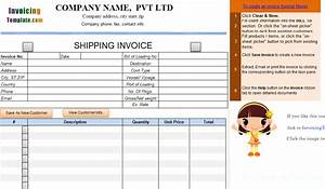 shipping invoice template 1 With shipping invoice template