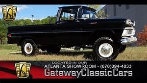 1961 Chevrolet Apache 20 - Gateway Classic Cars Of Atlanta  59