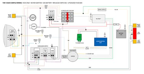 1979 yamaha xs400 wiring diagram simple 39 wiring