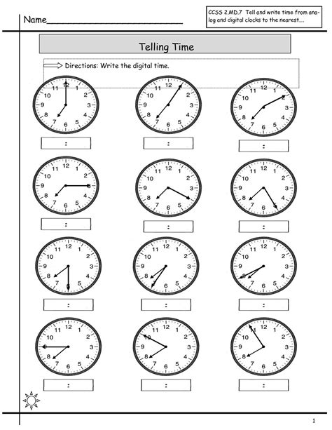 free elapsed time worksheets kiddo shelter