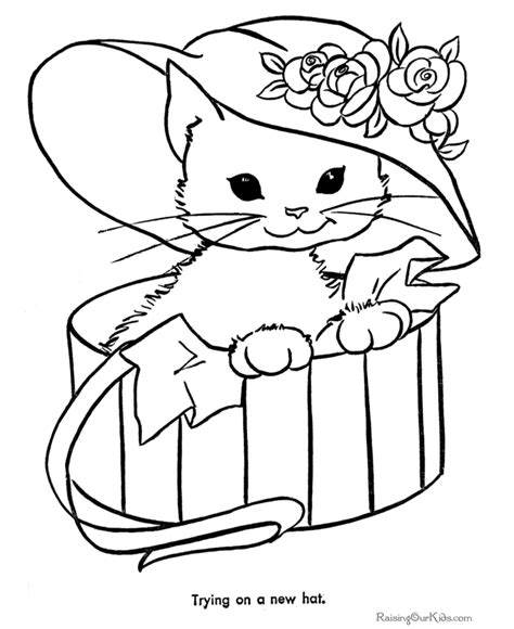 kittens coloring pages minister coloring