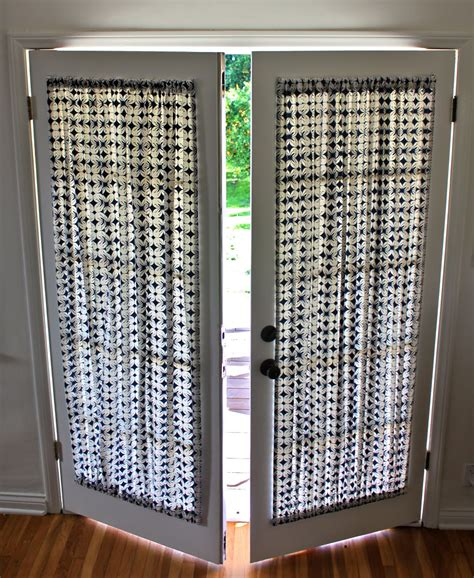 door curtains on security door