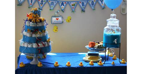 rubber duck themed baby shower ideas popsugar family
