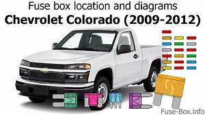 Fuse Box Location And Diagrams  Chevrolet Colorado  2009-2012