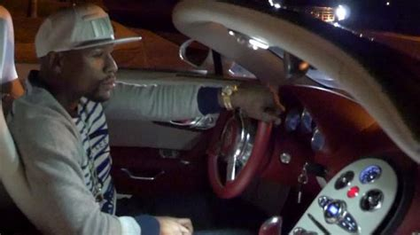 floyd mayweather shows   million luxury car collection