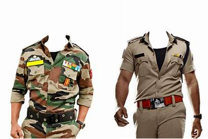 Policeman Frame Suit