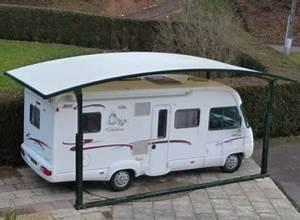 Carport Camping Car : abri camping car en m tal et toile carport livr et ~ Dallasstarsshop.com Idées de Décoration