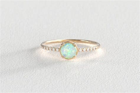 opal wedding rings for 16 opal engagement rings you ll fall in with brit co